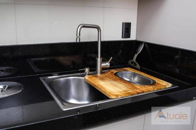Apartamento com 2 dormitórios para alugar, 69 m² por R$ 2.400,00/mês - Jardim Chapadão - C - Foto 9