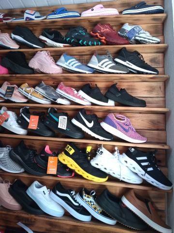 ?promoção ?tênis Adidas Okley naik fila Mizuno e outros - Foto 6