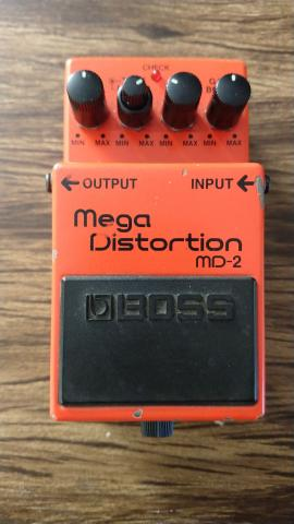 Boss Mega Distortion MD-2 - Foto 2