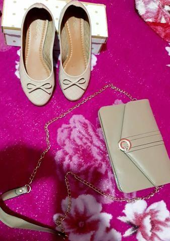 Vendo bolsa + sapatilha