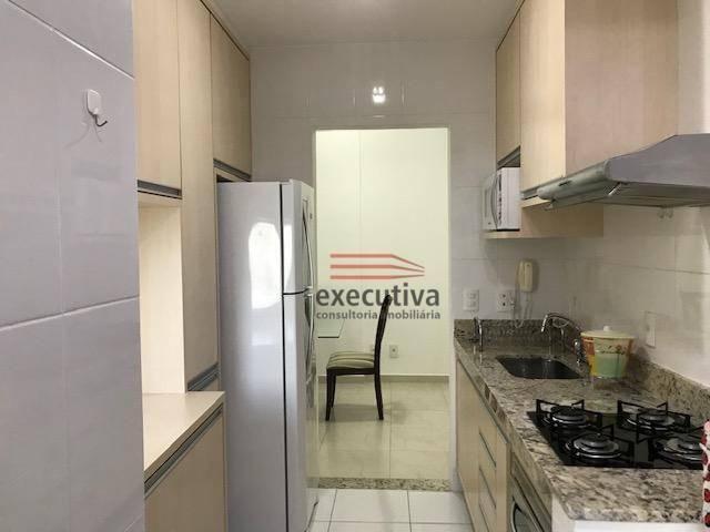 Apartamento com 1 dormitório para alugar, 57 m² por R$ 1.850,00/mês - Jardim das Colinas - - Foto 4