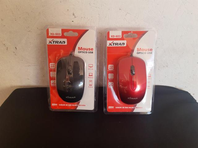 Mouse com fio USB XTRAD  - Foto 6