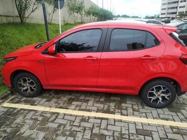 Fiat Argo vermelho 2020