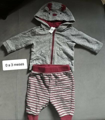 Venda lote roupas de bebê para inverno - Foto 2