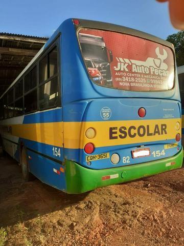 Ônibus Escolar M.benz buscar 51 lug - Foto 2