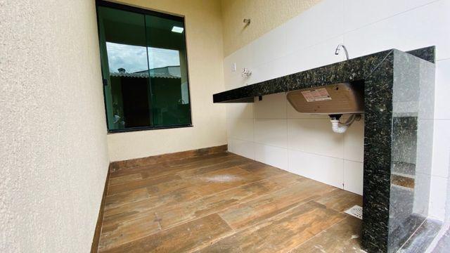 Casa Nova, Linda, Acabamento Impecável - 03Qtos, Quintal + Ampla Área Gourmet!! - Foto 13