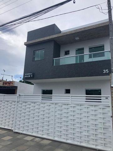 Apt. Mangabeira com varanda e cozinha projetada