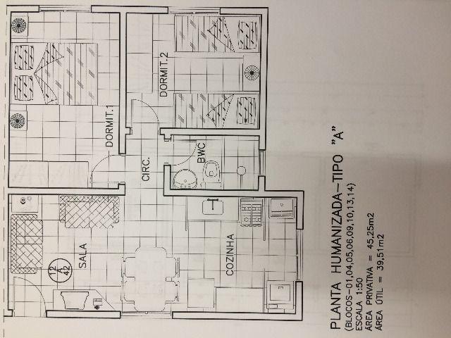 Apartamento 2 quartos no Cond. Anselmo Vedoato em Londrina - Foto 10