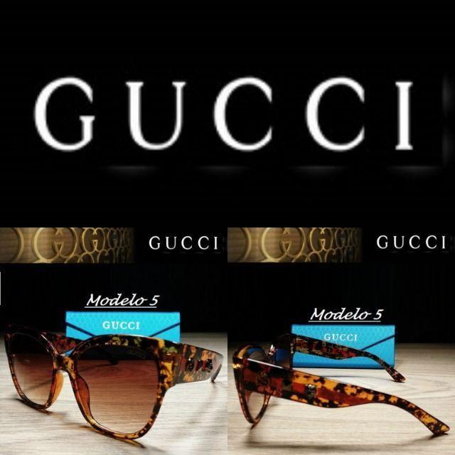 Óculos Feminino Gucci 8311 Retangular com Proteção UV - Foto 5