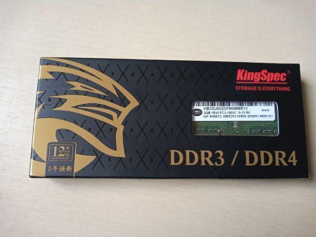 2 Memórias de Notebook DDR3 2GB 1333 mhz 10600 - Foto 3