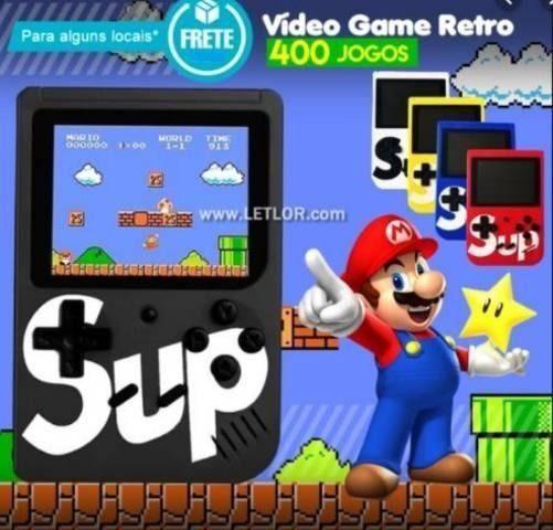 Video Game Portátil Game Player Muitos Jogos Inclusos