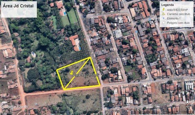 Área à venda, 9622 m² por R$ 1.480.000 - Jardim Cristal - Aparecida de Goiânia/GO - Foto 2