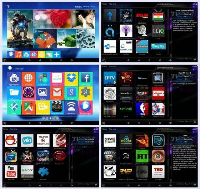 TV Box 5G - 32gb -Transforme sua TV em Smartv - Netflix, YouTube e net - Foto 3