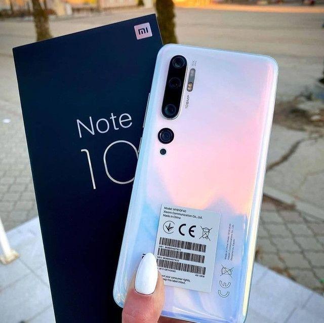 Top Xiaomi..MI Note 10  - NOVO-  Lacrado com Garantia e Entrega imediata