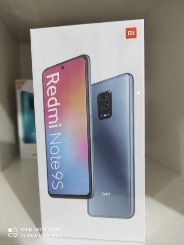 Show! Redmi note 9 s da Xiaomi . NOVO LACRADO aceito cartão