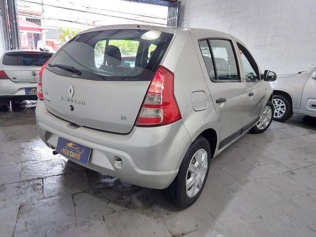 Renault Sandero 2012 Exp. 1.6 Completo + GNV - Foto 4