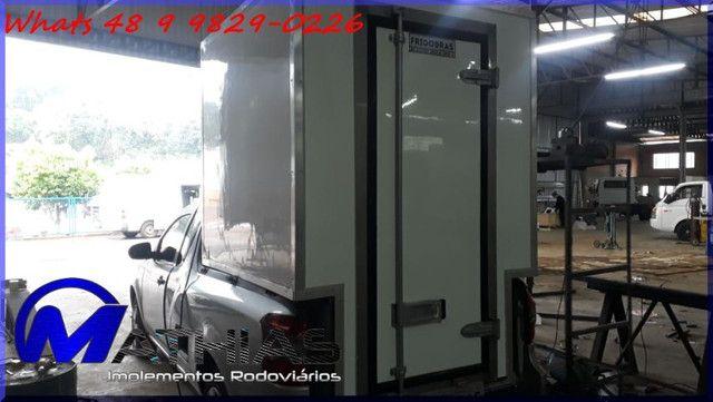 bau termico para carros pequenos saveiro,montana,s10 e outros Mathias implementos  - Foto 3