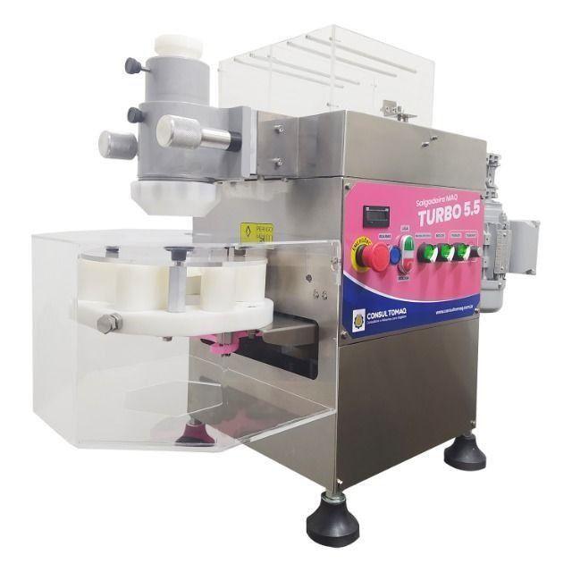 Máquina de fazer salgados