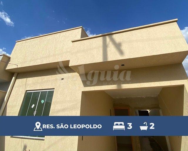 Casa com 3 quartos, varanda gourmet e excelente localização no Residencial São Leopoldo