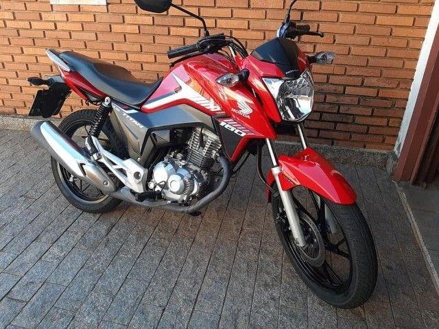 Titan 160cc Vermelha Promoção - Foto 2