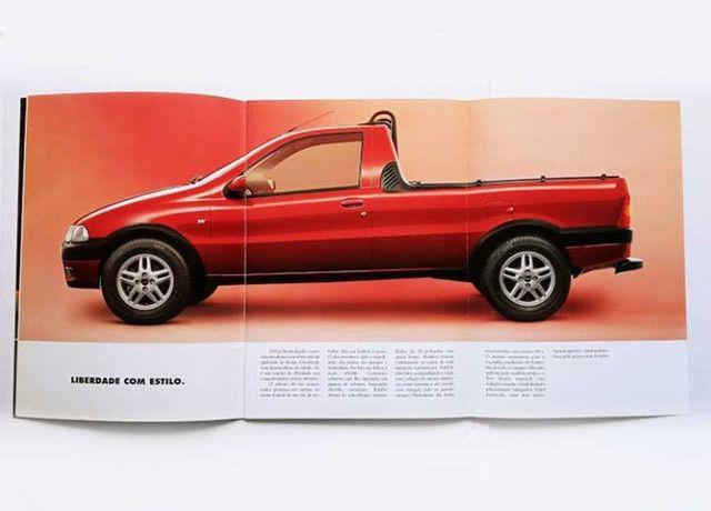 Fiat Strada LX, Trekking e Working - catálogo, folder, brochura - ótimo estado - Foto 4