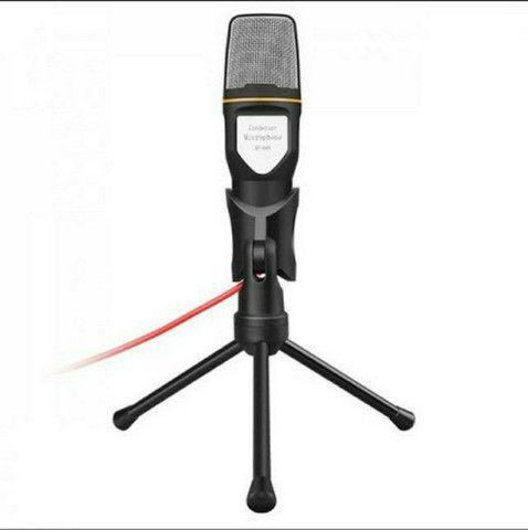 Microfone Condensador Profissional Omnidirecional SF-666 - Foto 5