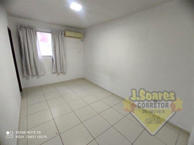 Bessa, 3 quartos, DCE, suíte, 95m², R$ 1.500 C/Cond, Aluguel, Apartamento, João Pessoa - Foto 4