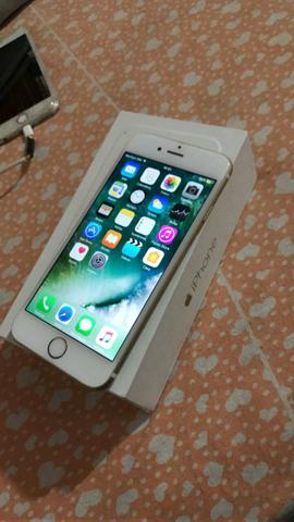 Iphone 6 16 gold completo nota fiscal sem detalhes