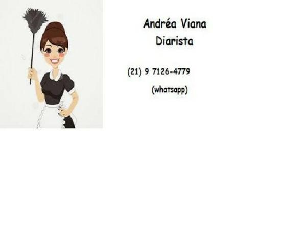 Andréa Viana Diarista/ serviços gerais