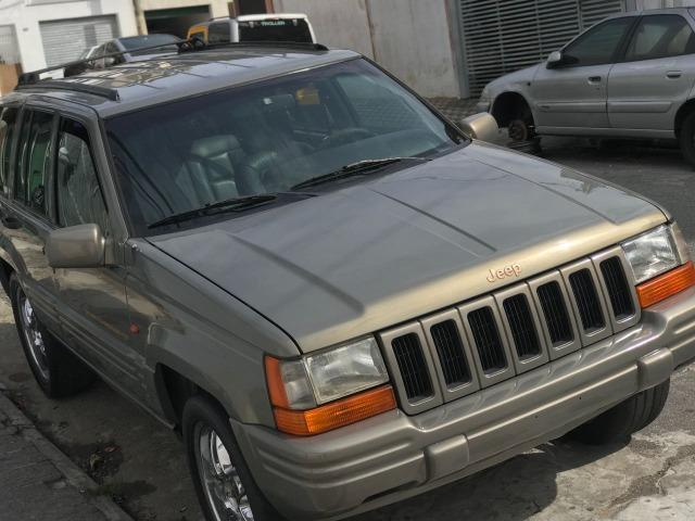 Exceptional Jeep Cherokee Jeep Grand Cherokee Limited 5.2 V8 1997