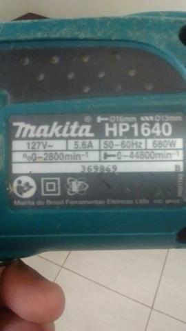 Pra vender logo uma furadeira da marca Makita