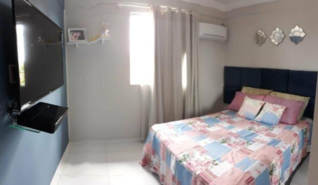 Apartamento completamente mobiliado