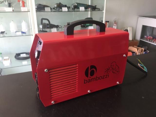 Máquina de Solda Inversora Bambozzi A Industrial 241 Bi-Volt(Nova) - Foto 4