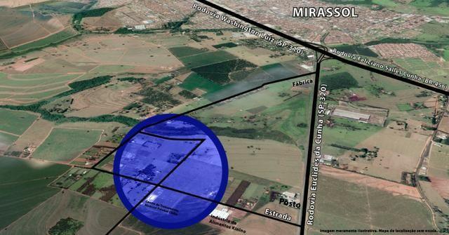 Área com Ótima Localização para Locação em Mirassol