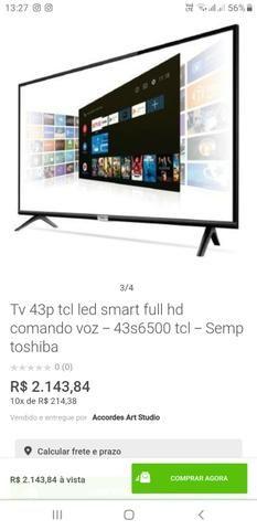 Vendo TV 43 tcl led smart 43 NOVA - Foto 2