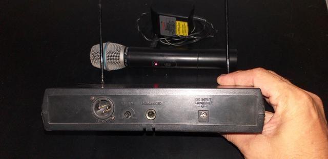 Microfone sem fio uhf - Foto 2
