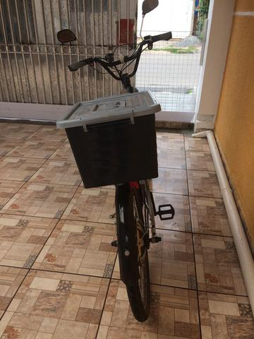 Bicicleta elétrica 800 watts - Foto 3