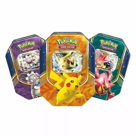 Latas com cartas Pokémon - Foto 3