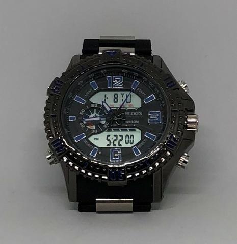 7add70a48aa Relógio Digital e Analógico Relogs Pulseira Reforçada Caixa de Aço Produto  Novo Qualidad
