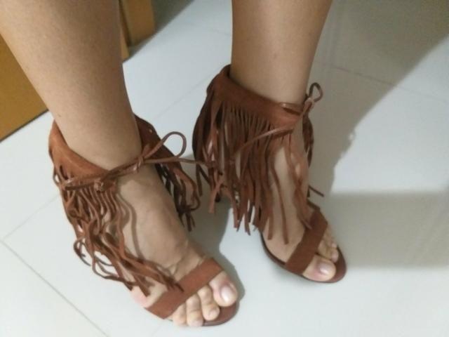 fe7496e25 Sandália de Franja AREZZO - Roupas e calçados - Freguesia, Rio de ...