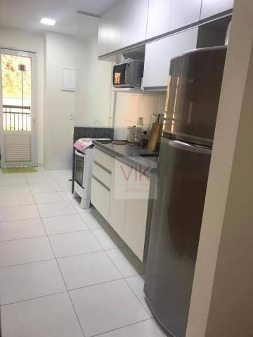 Apartamento com 2 dormitórios para alugar, 86 m² por r$ 2.400/mês - jardim ypê - paulínia/ - Foto 10