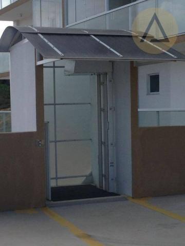 Cobertura com 2 dormitórios à venda, 122 m² por r$ 370.000 - lagoa - macaé/rj - Foto 10