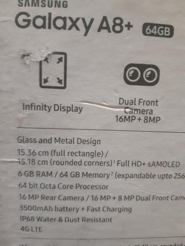 A8+ 6de RAM e 64GB de memória