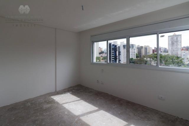 Apartamento com 3 dormitórios à venda por R$ 518.500,00 - Mercês - Curitiba/PR - Foto 9