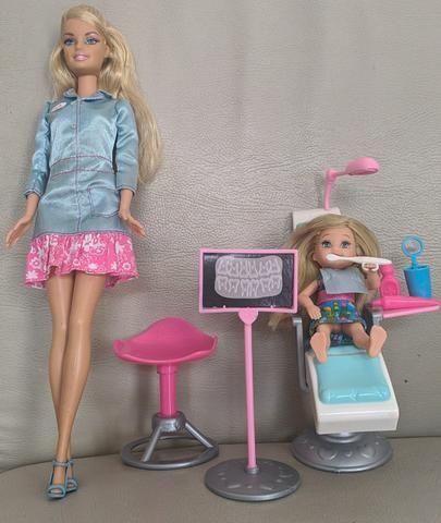 Barbie quero ser Dentista e Barbie quero ser Babá - Colecionador - Foto 3