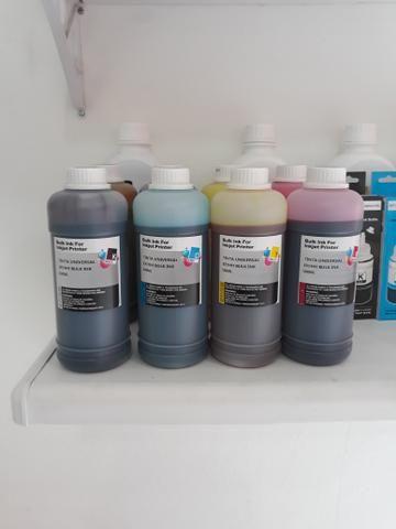 Tintas de 500ml para impressora Epson HP e Canon - Foto 2