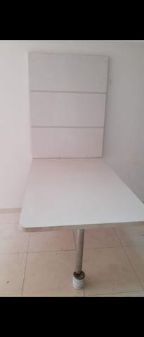 Mesa em MDF madeirado - Foto 2
