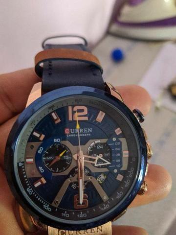 Relógio CURREN ORIGINAL Modelo 8329, lançamento 2019. - Foto 2