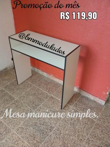 Mesa manicure (Promoções) - Foto 2