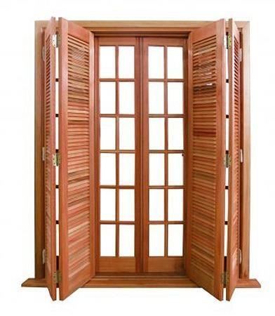 Portas de madeiras / janelas de madeiras/ puxador / fechaduras - Foto 5